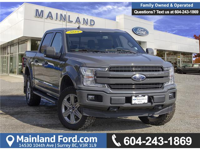2018 Ford F-150 Lariat (Stk: 8F17929) in Surrey - Image 1 of 15