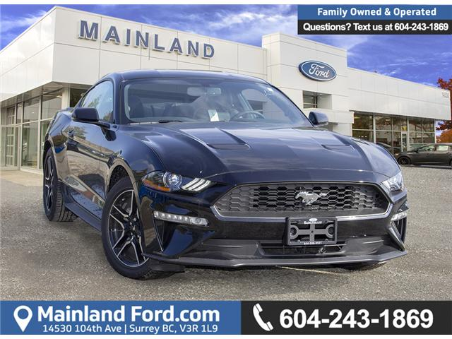 2019 Ford Mustang EcoBoost Premium (Stk: 9MU3123) in Surrey - Image 1 of 23