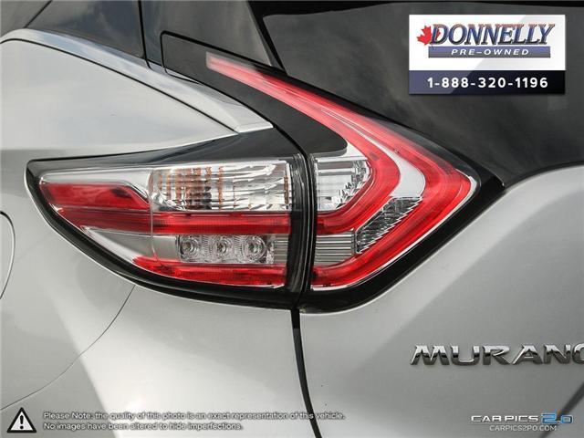 2017 Nissan Murano SV (Stk: CLMUR914) in Kanata - Image 12 of 27