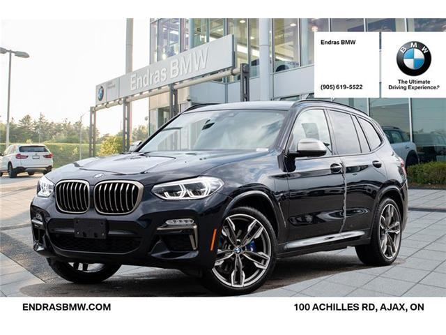 2019 bmw x3 m40i at 523 b w for sale in ajax endras bmw. Black Bedroom Furniture Sets. Home Design Ideas