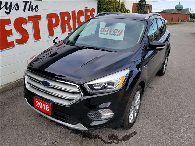 2018 Ford Escape Titanium (Stk: 18-615) in Oshawa - Image 1 of 17