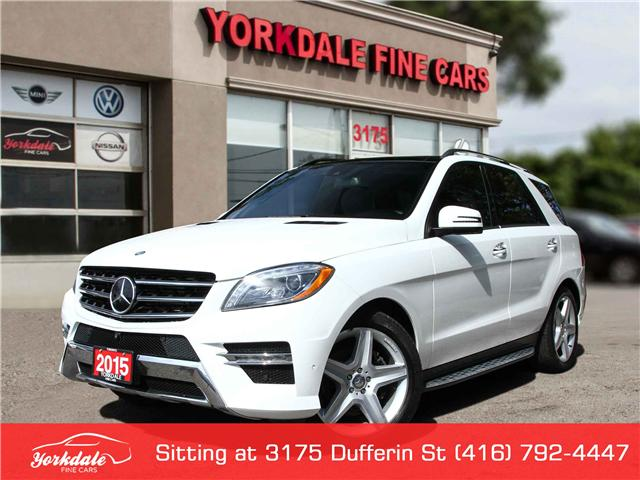 2015 Mercedes-Benz M-Class  (Stk: D2803) in Toronto - Image 1 of 26