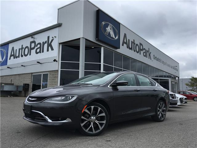 2016 Chrysler 200 C (Stk: 16-89423RMB) in Barrie - Image 1 of 27
