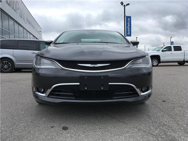2016 Chrysler 200 C (Stk: 16-89423RMB) in Barrie - Image 2 of 27