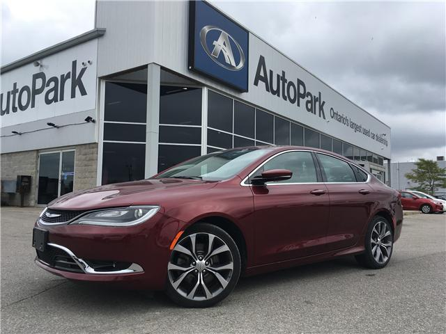 2016 Chrysler 200 C (Stk: 16-85334RMB) in Barrie - Image 1 of 28