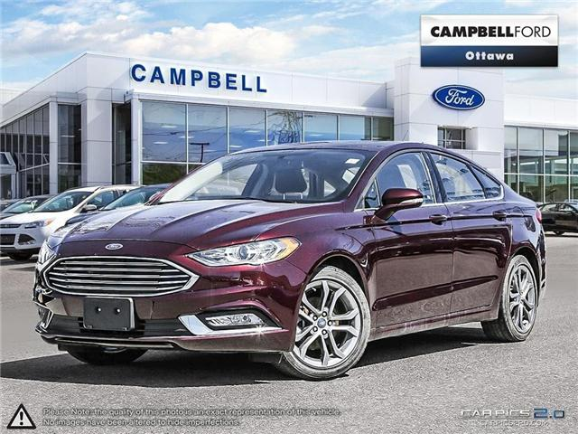 2017 Ford Fusion SE LEATHER-POWER ROOF-LOW KMS (Stk: 940561) in Ottawa - Image 1 of 28