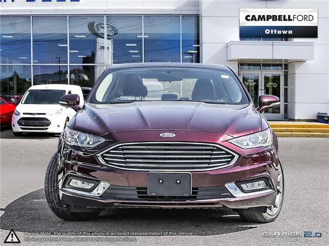 2017 Ford Fusion SE LEATHER-POWER ROOF-LOW KMS (Stk: 940561) in Ottawa - Image 2 of 28