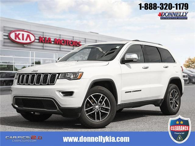 2018 Jeep Grand Cherokee Limited (Stk: CLKUR2185) in Kanata - Image 1 of 27