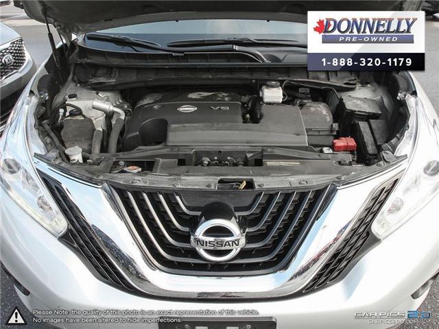2017 Nissan Murano  (Stk: CLKUR2187) in Kanata - Image 8 of 27