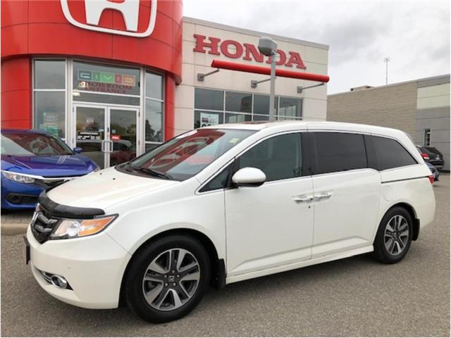 2017 Honda Odyssey Touring (Stk: J9670A) in Georgetown - Image 1 of 11