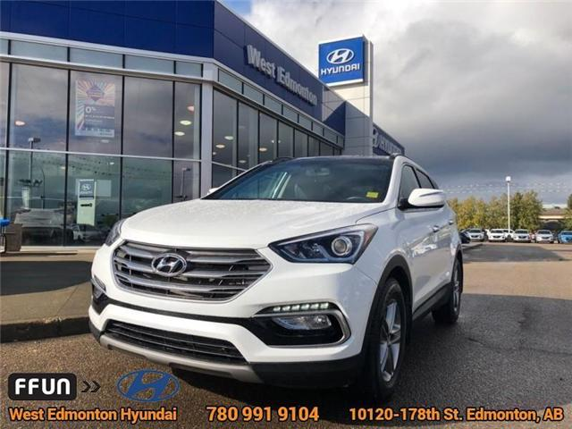 2018 Hyundai Santa Fe Sport  (Stk: E4101) in Edmonton - Image 1 of 22
