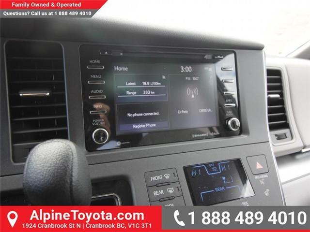 2018 Toyota Sienna LE 7-Passenger (Stk: S207024) in Cranbrook - Image 13 of 17
