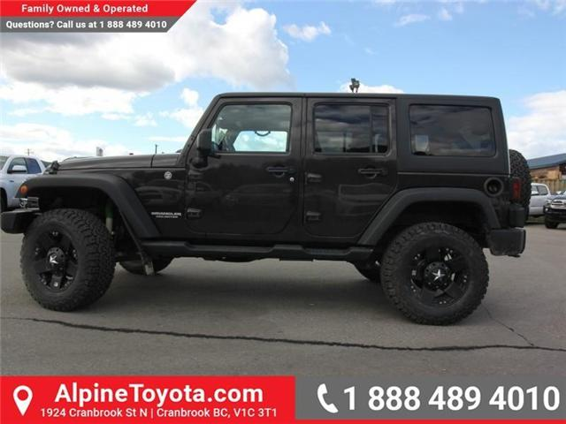 2013 Jeep Wrangler Unlimited Sahara (Stk: S201388A) in Cranbrook - Image 2 of 16