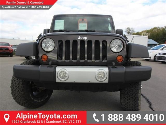 2013 Jeep Wrangler Unlimited Sahara (Stk: S201388A) in Cranbrook - Image 8 of 16