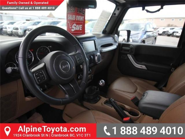 2013 Jeep Wrangler Unlimited Sahara (Stk: S201388A) in Cranbrook - Image 9 of 16