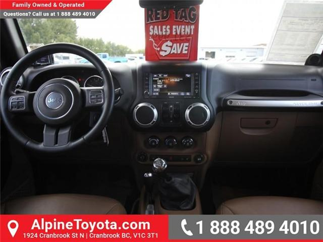 2013 Jeep Wrangler Unlimited Sahara (Stk: S201388A) in Cranbrook - Image 10 of 16