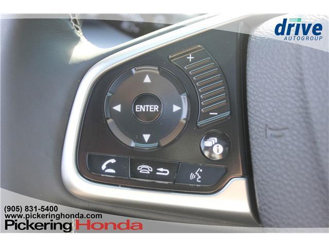 2018 Honda Civic Touring (Stk: T1293) in Pickering - Image 19 of 31