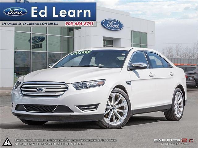 2017 Ford Taurus Limited (Stk: 702523) in St Catharines - Image 1 of 27