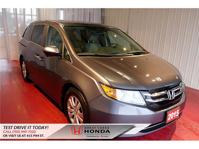 2015 Honda Odyssey EX (Stk: HP551) in Sault Ste. Marie - Image 1 of 22