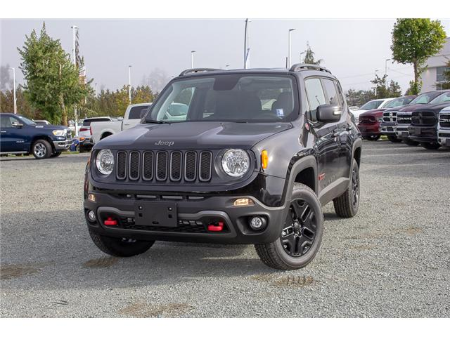 2018 Jeep Renegade Trailhawk (Stk: JH95619) in Abbotsford - Image 3 of 30