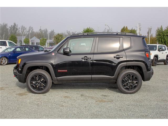 2018 Jeep Renegade Trailhawk (Stk: JH95619) in Abbotsford - Image 4 of 30