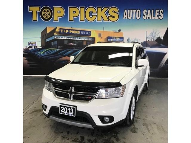 2013 Dodge Journey SXT/Crew (Stk: 715374) in NORTH BAY - Image 1 of 29