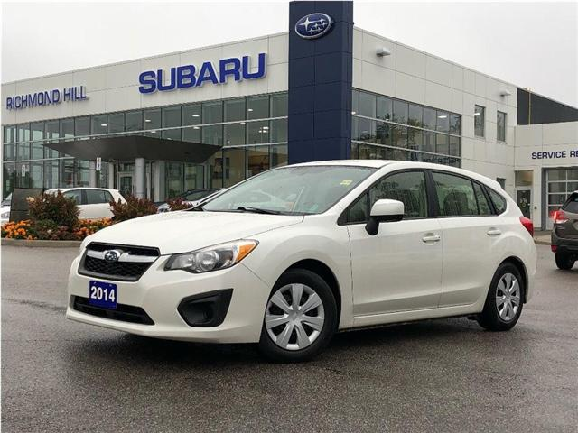 2014 Subaru Impreza 2.0i (Stk: P03716) in RICHMOND HILL - Image 1 of 19