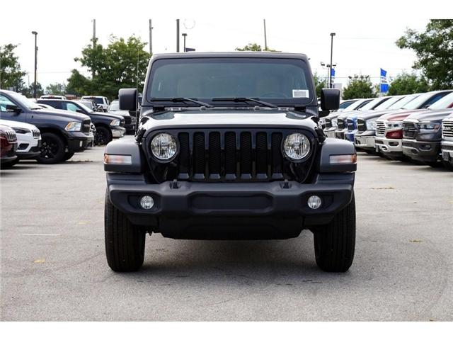 2018 Jeep Wrangler UNLIMITED SPORT| 6-SPD M/T| REAR CAM| ANDROID AUTO (Stk: NOU-103064-J774) in Burlington - Image 2 of 30
