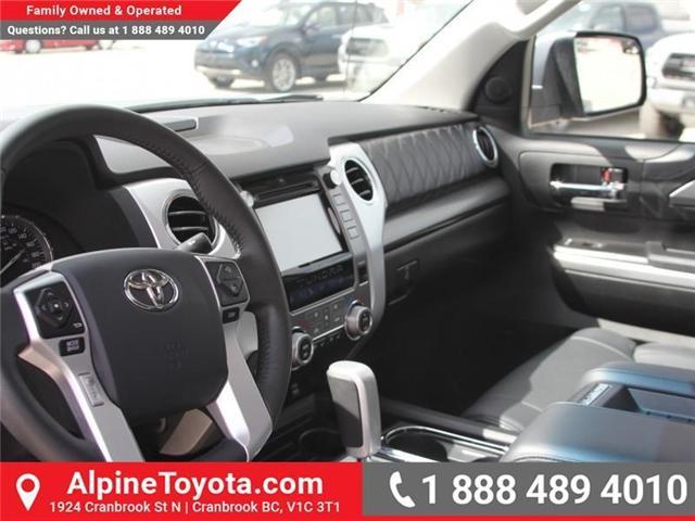 2017 Toyota Tundra Platinum 5.7L V8 (Stk: X722358A) in Cranbrook - Image 9 of 19