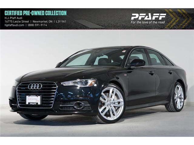 2016 Audi A6 3.0 TDI Technik (Stk: A7885) in Newmarket - Image 1 of 19