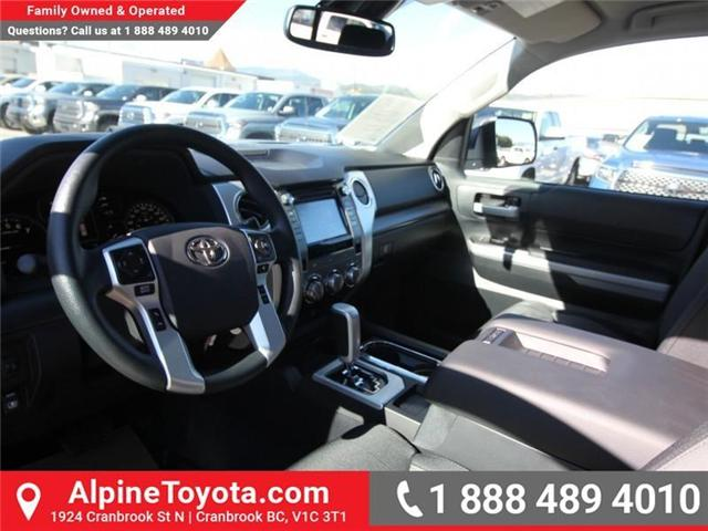 2019 Toyota Tundra TRD Offroad Package (Stk: X783307) in Cranbrook - Image 9 of 18