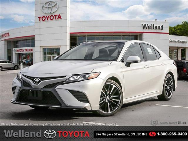 2018 Toyota Camry XSE V6 (Stk: CAM5410) in Welland - Image 1 of 24