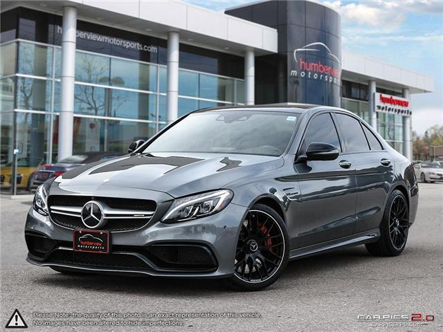 2017 Mercedes-Benz AMG C 63 S (Stk: 18HMS604) in Mississauga - Image 1 of 27