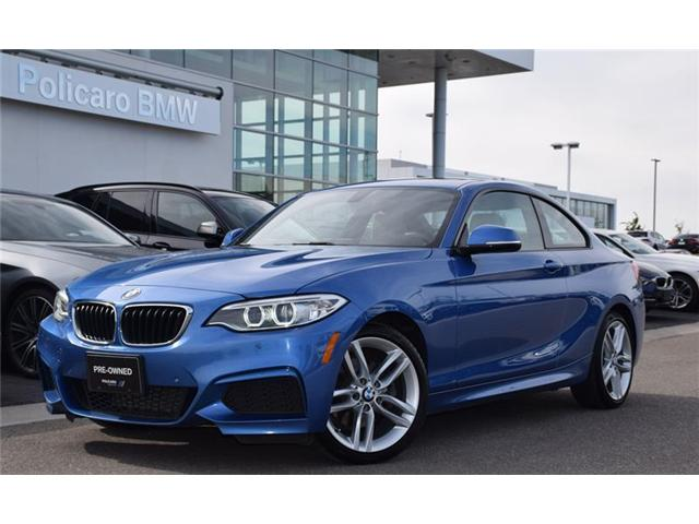 2016 BMW 228i xDrive (Stk: 9B09218B) in Brampton - Image 1 of 14