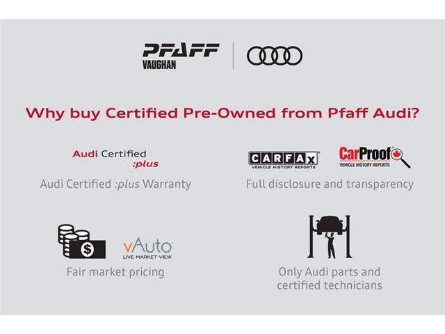 Used Vehicles For Sale In Vaughan Pfaff Audi Vaughan - Audi certified pre owned warranty review