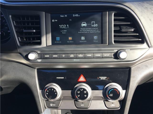 2019 Hyundai Elantra Preferred (Stk: 39047) in Saskatoon - Image 11 of 17