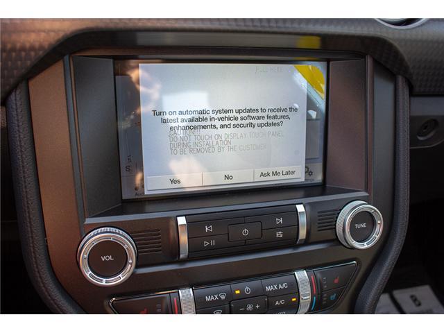 2019 Ford Mustang EcoBoost Premium (Stk: 9MU1281) in Surrey - Image 21 of 27