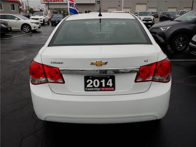 2014 Chevrolet Cruze 1LT (Stk: 12989P0053310) in Cambridge - Image 6 of 12