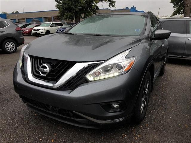 2017 Nissan Murano SV - CERTIFIED PRE-OWNED (Stk: P0579) in Mississauga - Image 1 of 15
