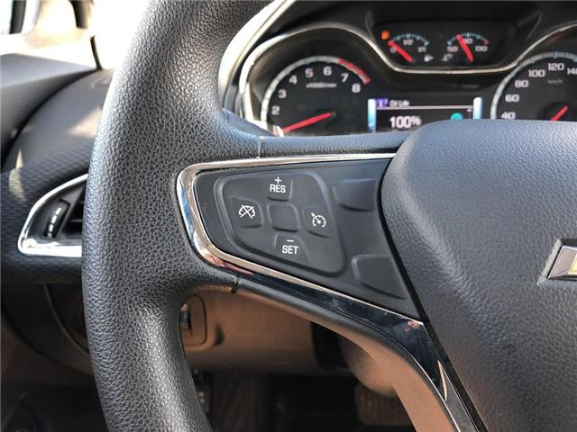 2018 Chevrolet Cruze TRUE NORTH|SUNROOF|REMOTE START|REAR CAMERA| (Stk: PW17428) in BRAMPTON - Image 13 of 16