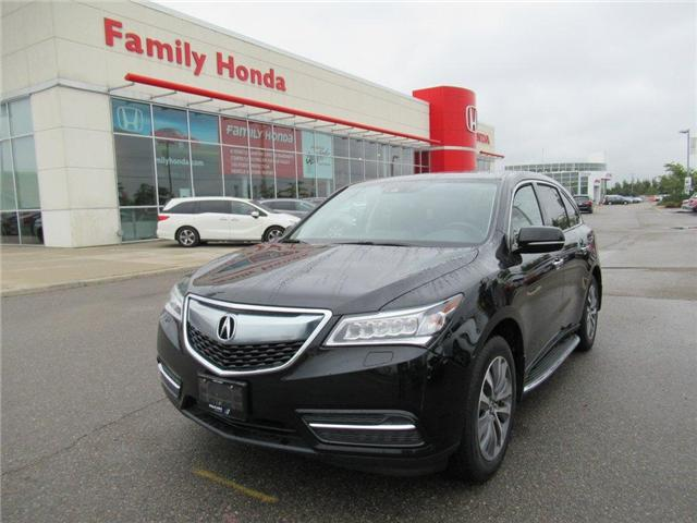 2016 Acura MDX Navigation Package (Stk: 9500569A) in Brampton - Image 1 of 30
