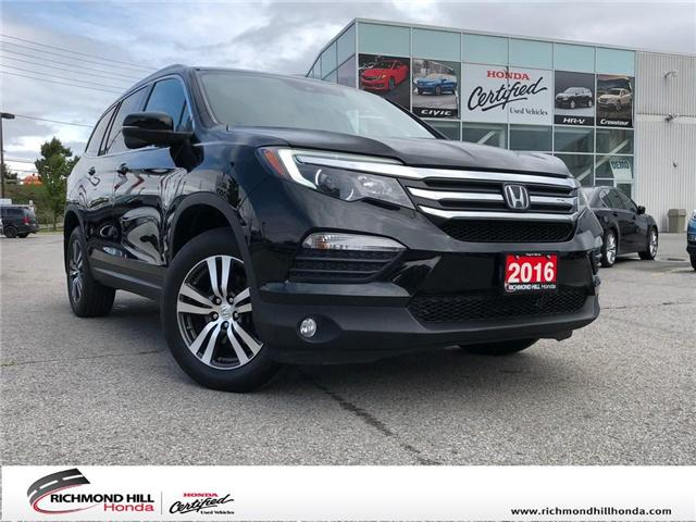 2016 Honda Pilot EX-L RES (Stk: 181591P) in Richmond Hill - Image 1 of 23