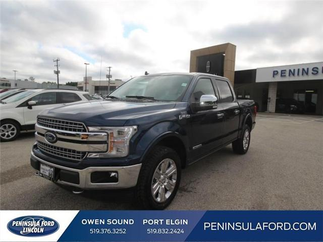 2018 Ford F-150 Lariat (Stk: 18FE488) in Owen Sound - Image 1 of 15