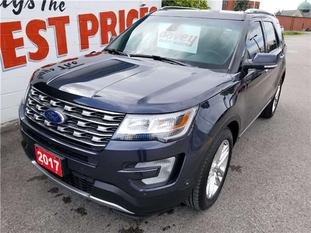 2017 Ford Explorer Limited (Stk: 18-578) in Oshawa - Image 1 of 24
