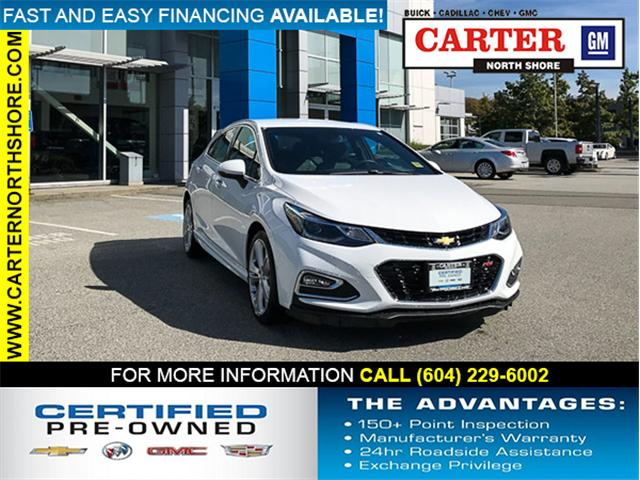 2018 Chevrolet Cruze Premier Auto (Stk: 971330) in Vancouver - Image 1 of 25