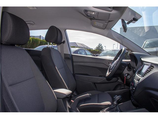 2019 Hyundai Accent Preferred (Stk: KA046546) in Abbotsford - Image 18 of 27