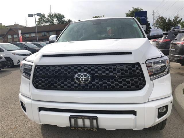 2019 Toyota Tundra Platinum 5.7L V8 (Stk: TUN6135) in Welland - Image 2 of 5