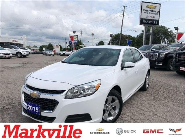 2015 Chevrolet Malibu LT-GM CERTIFIED PRE-OWNED- 1 OWNER TRADE (Stk: 216333A) in Markham - Image 1 of 16