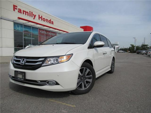 2017 Honda Odyssey Touring, FULLY LOADED! (Stk: 7504252) in Brampton - Image 1 of 30