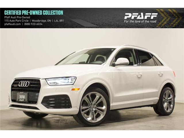 2018 Audi Q3 2.0T Progressiv (Stk: C6207) in Vaughan - Image 1 of 15